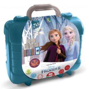 Schrijfset koffer Frozen 2
