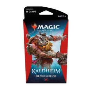 Magic The Gathering - Kaldheim - Red Theme Booster pack
