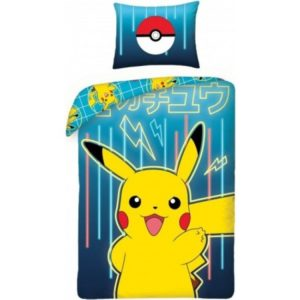 Pokemon Dekbedovertrek Pikachu