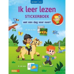 Stickerboek Ik Leer Lezen Avi Start - Wat Een Dag Voor Noor