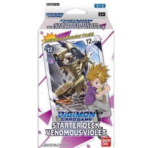 Digimon S3 Starter Deck Venomous Violet