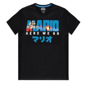 Nintendo - Super Mario Fire Mario Men's T-shirt