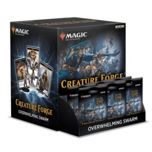 Magic the Gathering Creature Forge Overwhelming Swarm Gravity